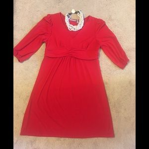 NY Collection Red Dress